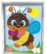 Аппликация помпонами Азбука тойс «Пчелка»