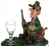 Набор подарочный «На посошок»: фигурка «Охотник» и рюмка 537-227