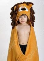Полотенце с капюшоном Zoocchini «Лев Лео»