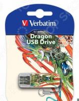 Флешка Verbatim Store 'n' Go Mini Tattoo Dragon 16Gb