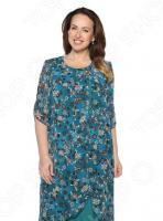 Платье Pretty Woman «Розетта». Цвет: темно-бирюзовый