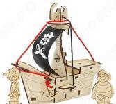 Игрушка-конструктор WOODY «Пиратский корабль: Карамба»