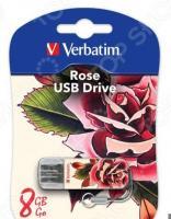 Флешка Verbatim Store 'n' Go Mini Tattoo Rose 8Gb