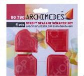 Набор шпателей для выравнивания Archimedes Stabi: 4 шт.