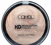 Хайлайтер для лица Lamel professional HD Highlighting Powder