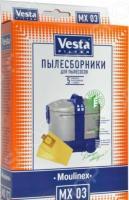 Комплект бумажных пылесборников и фильтр Vesta MX 03 Moulinex