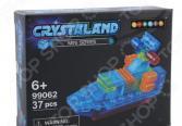 Конструктор-игрушка N-BRIX Crystaland «Патрульный катер»