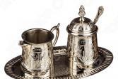 Набор для чая: сахарница и молочник на подставке 882-003