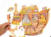 Игрушка-пазл WOODY «Ноев ковчег»