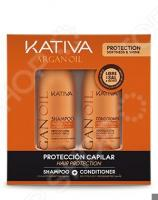 Набор увлажняющий для волос: шампунь и кондиционер Kativa 65803074 Argana