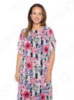 Платье Гранд Гром «Седьмой лепесток». Цвет: фиолетовый