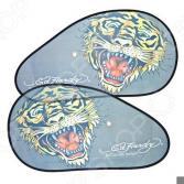 Шторки солнцезащитные на боковые стекла ED Hardy EH-00208 Tiger
