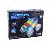 Конструктор со световыми эффектами N-BRIX Crystaland «Трактор 6 в 1»