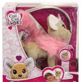 Мягкая игрушка Simba CHI CHI LOVE «Собачка-принцесса с пушистой сумкой»