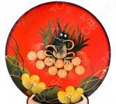 Тарелка декоративная «Денежная лягушка» 135-5037