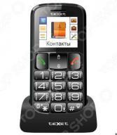 Мобильный телефон для пожилых людей Texet TM-B116 (бабушкофон)