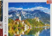 Пазл 500 элементов Trefl «Блед. Словения»