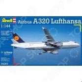 Сборная модель пассажирского самолета Revell Airbus A320 Lufthansa