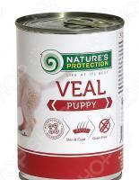 Корм консервированный для щенков Nature's Protection Puppy Veal «Телятина»