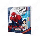Футболка с фломастерами для раскрашивания ReDraw Spider-Man