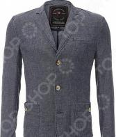 Пиджак Finn Flare S16-21004. Цвет: темно-синий