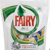 Капсулы для посудомоечных машин Fairy All-in-1