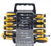 Набор отверток с битами и головками FIT 56407