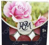 Набор свечей чайных Русская свечная мануфактура «Роза»