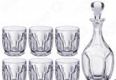 Набор для виски: штоф и стаканы Crystalite «Сафари» 669-218
