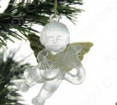 Елочное украшение Crystal Deco «Ангелочек». В ассортименте