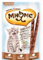 Лакомство для котят Мнямс «Лакомые палочки с индейкой»