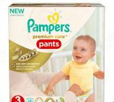 Подгузники-трусики Pampers Premium Care Midi