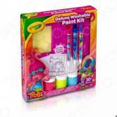 Набор для рисования Crayola с красками «Тролли Делюкс»