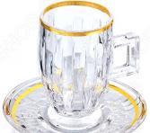 Чайный набор «Хрустальное совершенство». Количество предметов: 12