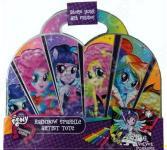 Набор бархатных постеров Fashion Angels Equestria girls Rainbow Rocks