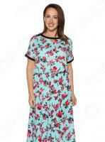 Платье «Изысканная красота». Цвет: голубой