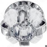 Светильник потолочный декоративный Эра DK31 CH/WHMWH