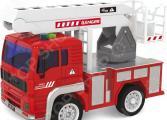 Машинка игрушечная Taiko «Пожарная машина c раскладной лестницей»