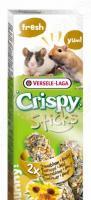 Лакомство для песчанок и мышей Versele-Laga Crispy «Палочки с подсолнечником и медом»