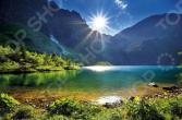 Пазл 1000 элементов Trefl «Озеро Морское око»