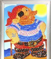 Мозаика из пайеток Азбука тойс «Пират»