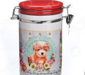 Банка для сыпучих продуктов Loraine «Собачки. Портрет»