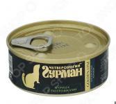Корм консервированный для хорьков Четвероногий Гурман Golden «Курица с потрошками в желе»