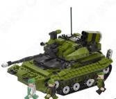 Конструктор игровой 1 Toy «Военная техника. Боевой танк»