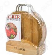 Набор разделочных досок Alber «Круг 44»
