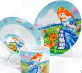 Набор посуды для детей Loraine «Принцесса» LR-27343