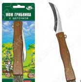 Нож грибника со щеточкой Мультидом AN84-127