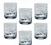 Набор стаканов для виски Jihlavske Sklarny Bohemia 1845 «Йорк» 663-055