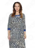 Платье Лауме-Лайн «Ночное созвездие». Цвет: синий