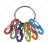 Брелок для ключей NiteIze S-Biner Key Ring KRG2-11-R3